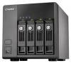 Qnap TS-410 Сетевой RAID-накопитель с 4 отсеками для HDD