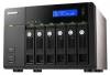 Qnap TS-659-PRO  Сетевой RAID-накопитель с 6 отсеками для HDD